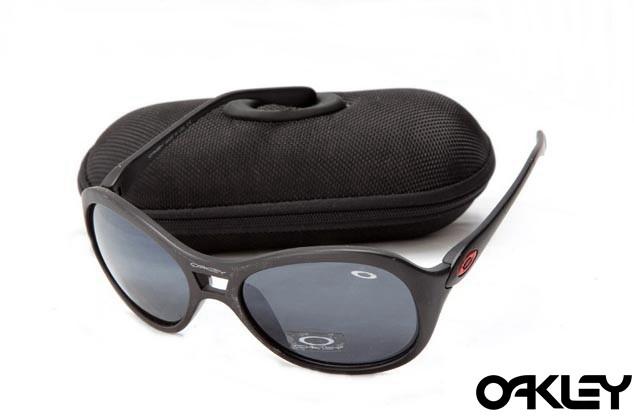 Oakley vacancy matte black and black iridium