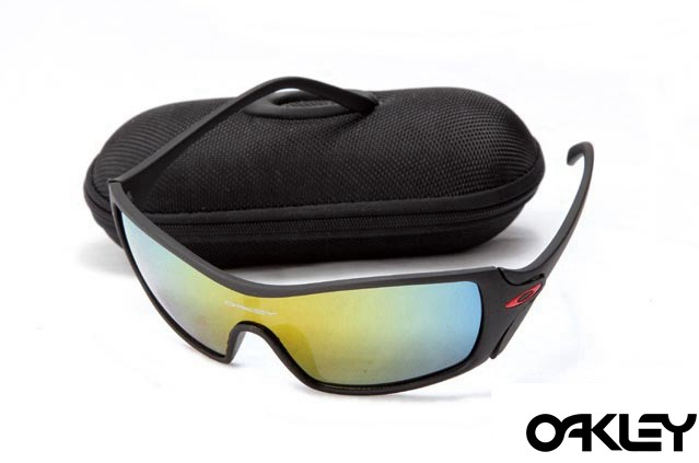 Oakley dart matte black and fire iridium