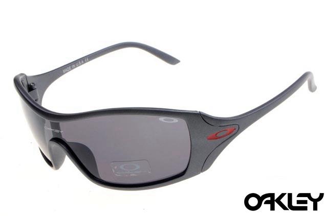 Oakley dart matte grey and clear black iridium