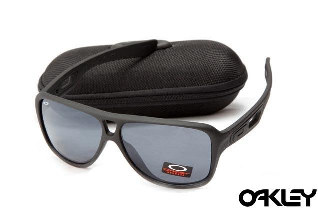 Oakley dispatch II sunglasses in matte black and black iridium
