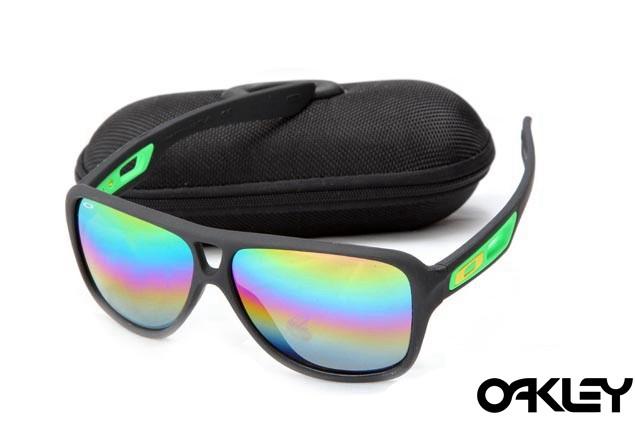 Oakley dispatch II sunglasses in matte black and camo iridium