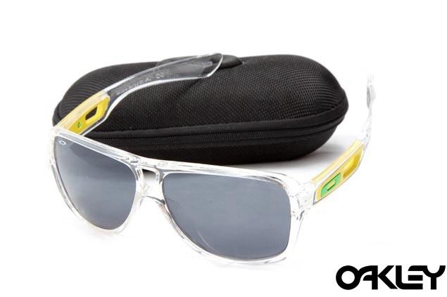 Oakley dispatch II sunglasses in clear and black iridium