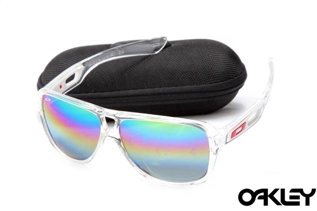 Oakley dispatch II sunglasses in clear and camo iridium