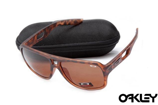 Oakley dispatch II sunglasses in brown tortoise and bronze polarized
