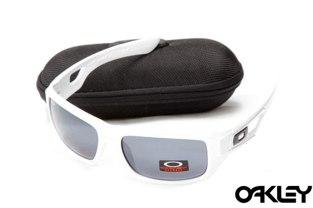 Oakley eyepatch 2 matte white and black iridium