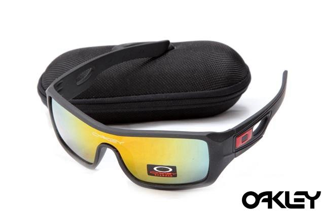Oakley eyepatch 2 matte black and fire iridium for sale
