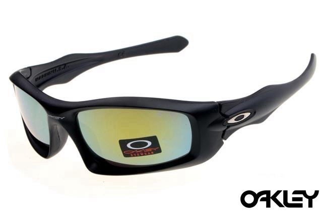 Oakley monster pup matte black and fire iridium