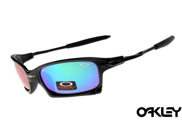 Oakley x squared sunglasses in black and ice iridium