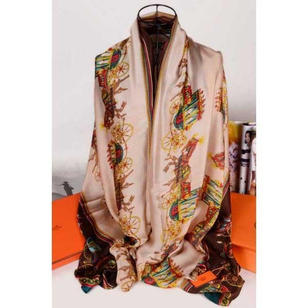 Hermes silk scarf sale