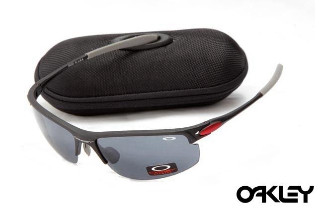 Oakley razrwire nbt sunglasses in matte black and black iridium