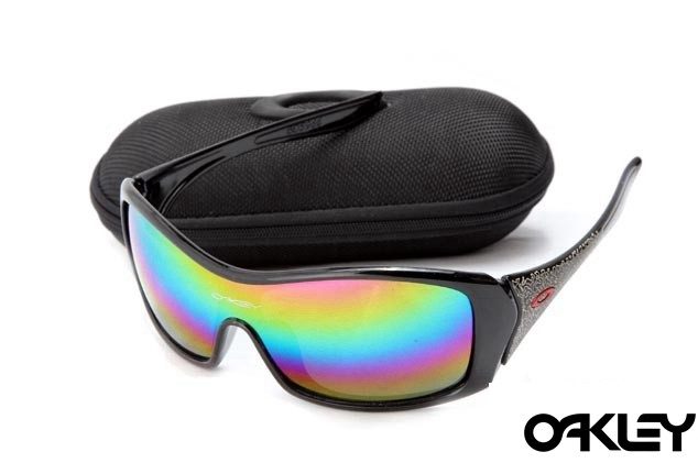 Oakley forsake polished black and colorful iridium