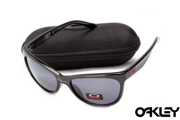 Oakley fringe polished black and clear black iridium