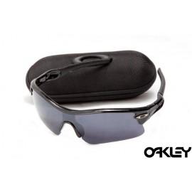 oakley radar path sunglasses in polished black and black iridium