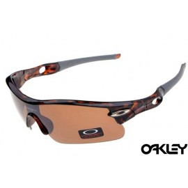 oakley radar pitch sunglasses in camo and persimmon
