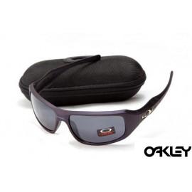 Oakley c six sunglasses in matte blue and grey iridium
