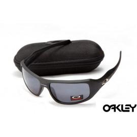 Oakley c six sunglasses in matte black and grey iridium