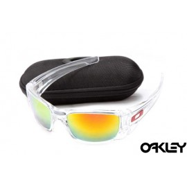 Oakley fuel cell sunglasses in crystal and fire iridium