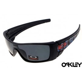 Oakley fuel cell sunglasses in matte black and black iridium for usa