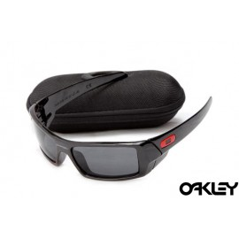 Oakley gascan sunglasses in polished black and black iridium