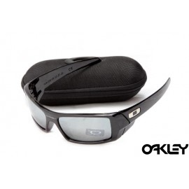 Oakley gascan sunglasses in polished black and grey iridium