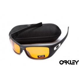 Oakley hijinx sunglasses in matte black and fire iridium