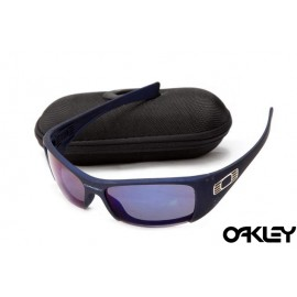 Oakley hijinx sunglasses in nave blue and violet iridium