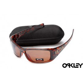 Oakley hijinx sunglasses in brown tortoise and VR28