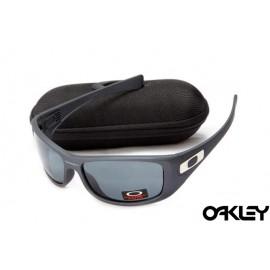 Oakley hijinx sunglasses in matte grey and black iridium for sale