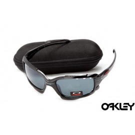 Oakley jawbone sunglasses in polished black and artesian blue