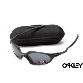 Oakley juliet sunglasses in matte black and black iridium