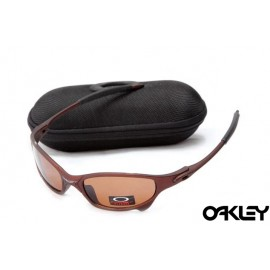 Oakley juliet sunglasses in earth brown and VR28