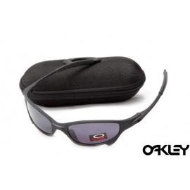 Oakley juliet sunglasses in matte black  and black violet