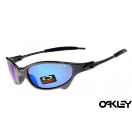 Oakley juliet sunglasses in black and ice iridium