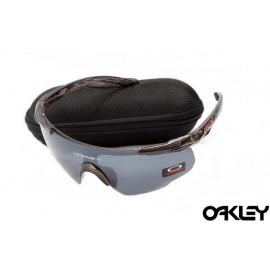 Oakley m frame sunglasses in black grey and clear iridium sale