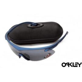 Oakley m frame sunglasses in blue depths and black iridium on sale
