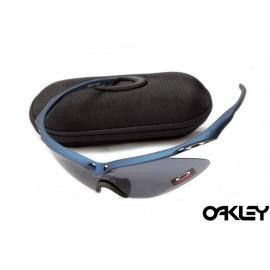 Oakley m frame sunglasses in pacific blue and black iridium