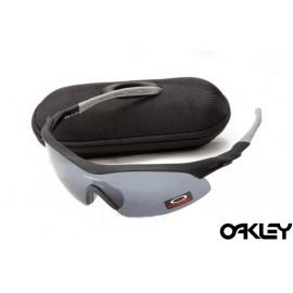 Oakley m frame sunglasses in black and grey and black iridium