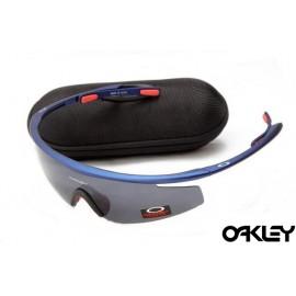Oakley m frame sunglasses in blue depths and black iridium