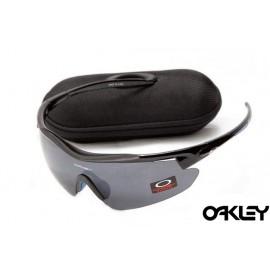 Oakley m frame sunglasses in polished black and black iridium for usa