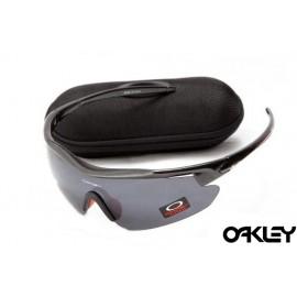 Oakley m frame sunglasses in polished black and black online