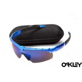 Oakley m frame sunglasses in brilliant blue and G30 iridium