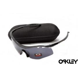 Oakley m frame sunglasses in polished black and black iridium sale