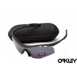 Oakley m frame sunglasses in black and black iridium for usa
