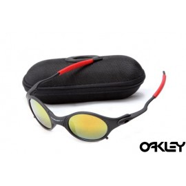 Oakley mars matte black and fire iridium