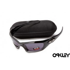 Oakley monster dog polished black and black violet