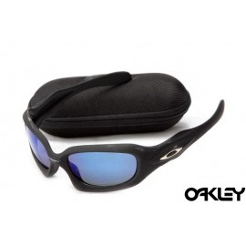 Oakley monster dog matte black and ice iridium
