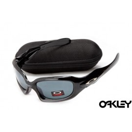 Oakley monster dog polished black and black iridium online
