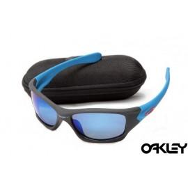 Oakley pit bull sunglasses in matte black and ice iridium