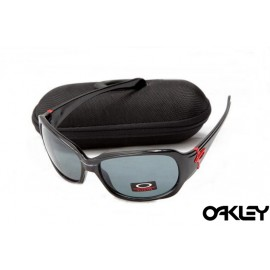 Oakley script polished black and grey