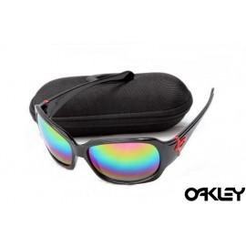 Oakley script polished black and colorful iridium